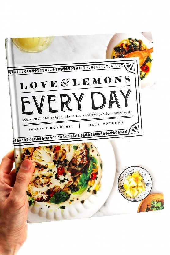 Libro de cocina cotidiano de amor y limones