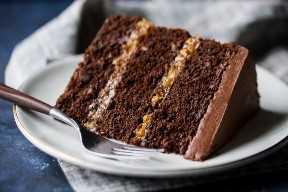 Receta de glaseado de pastel de chocolate alemán