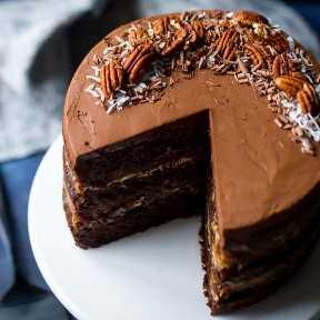 La mejor receta de pastel de chocolate alemán