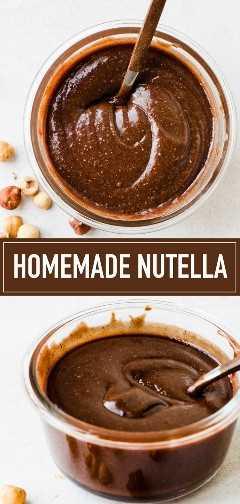 ¡Esta es la mejor receta casera de Nutella! Su sabor es increíble y fácil de hacer en casa.