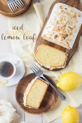 ¡Este pan estaba tan lleno de brillante sabor a limón! Me encantó la pizca de almendra también, como un buen cumplido. #ponderar
