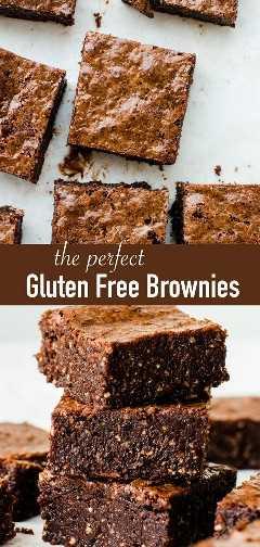 Los mejores brownies sin gluten. Estos brownies de chocolate sin harina hechos en casa están hechos con avellanas y son tan blandos que se derretirán en la boca. Además, son muy fáciles de hacer.