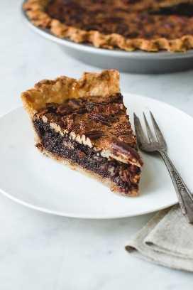 Pastel De Pecan De Chocolate Borbón