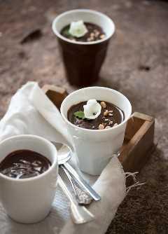 El MEJOR pudín de chocolate | prettysimplesweet.com
