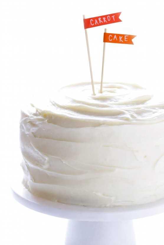 El MEJOR pastel de zanahoria con queso crema Frosting