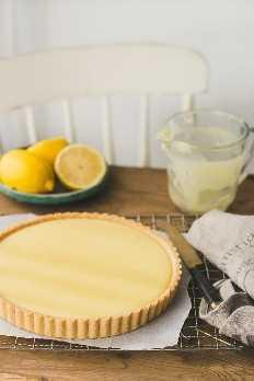 Tarta de limón cremosa perfecta