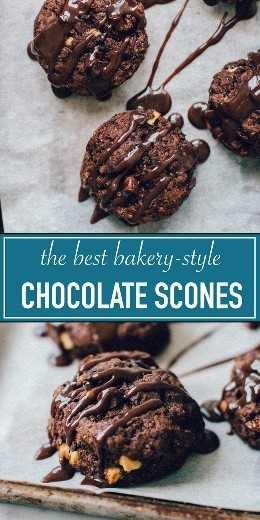 Increíble Triple Scones De Chocolate