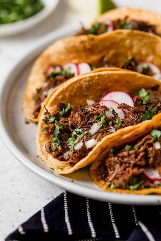 Barbacoa De Ternera En Tacos