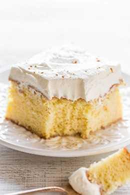 La mejor tarta de Tres Leches: ¡suave, tierna y empapada con tres leches! Simplemente se derrite en tu boca y es el MEJOR pastel de tres leches de todos los tiempos. Tienes que probar este increíble pastel !!