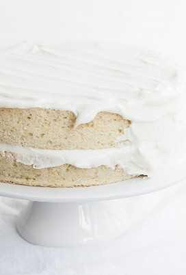 Pastel Blanco Frosting