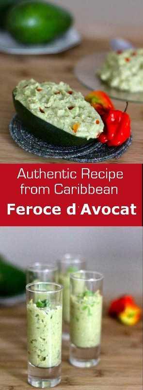 Feroce d'Avocat es una especialidad tradicional de las Indias Occidentales Francesas hecha de bacalao, aguacate y yuca. #caribe #appetizer #westindies #glutenfree