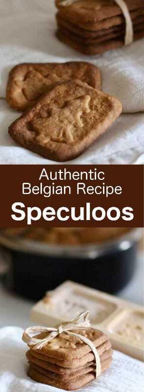 Los speculoos son deliciosas y tradicionales galletas de San Nicolás de Bélgica, con un sabor distintivo que ahora se puede disfrutar todo el año. #cookie #SaintNicholas #StNicholas #Belgium # 196flavors