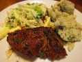 cena de bistec