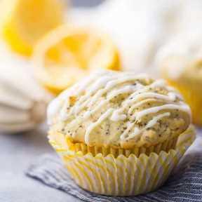 La mejor receta de muffins de semilla de amapola de limón