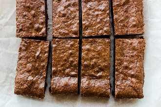 Brownies sin harina (sin gluten)