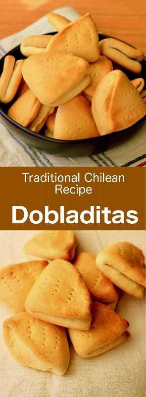 Las dobladitas son populares bollos sin levadura tradicionales de chile que se preparan con solo una pequeña cantidad de polvo de hornear. #Chile #ChileanCuisine #ChileanRecipe #ChileanFood #WorldCuisine # 196flavors