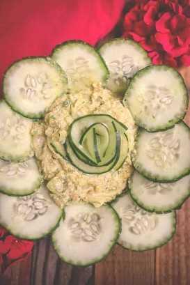 Receta de ensalada de pepinillo pepino nepalí