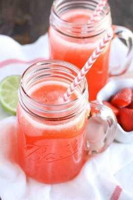 Limonada de morango