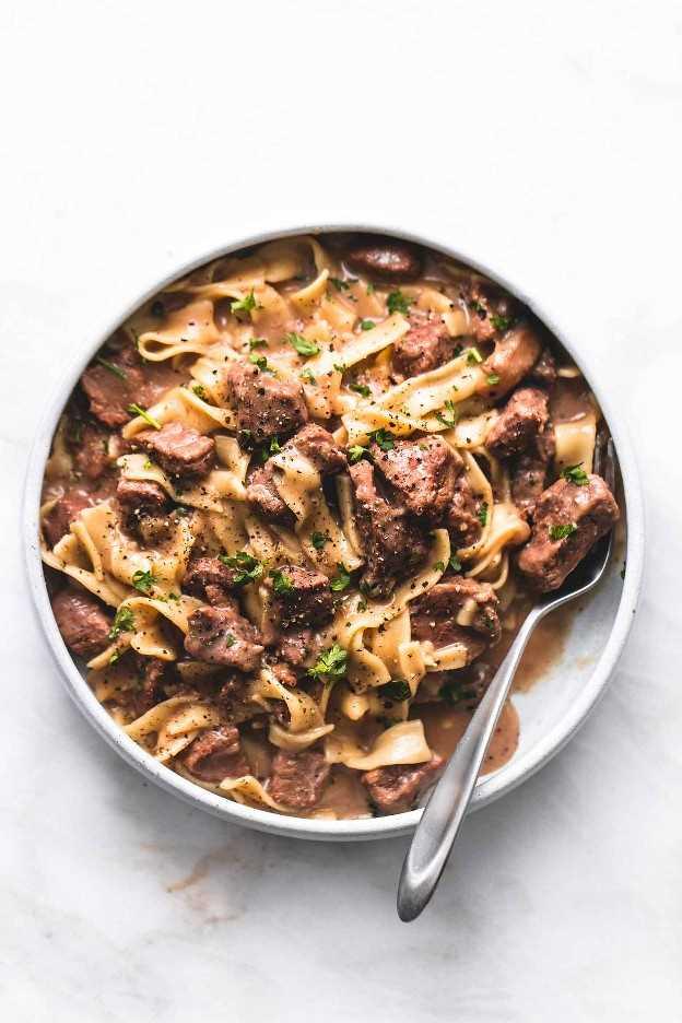 A melhor receita de carne bovina sempre fácil Strogonoff | lecremedelacrumb.com