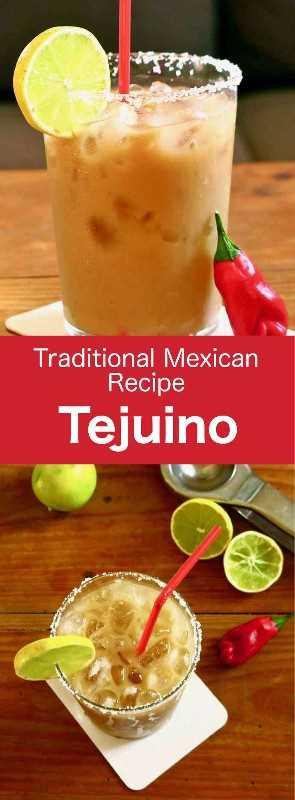 Tejuino es una deliciosa bebida fermentada mexicana hecha con masa de harina (harina de maíz nixtamalizada) mezclada con agua, piloncillo y limón. #Mexican #MexicanFood #MexicanCuisine #MexicanRecipe #WorldCuisine # 196flavors