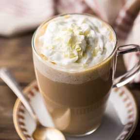 La mejor receta de chocolate blanco moca