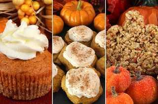 Hemos reunido algunos de nuestros postres de calabaza más deliciosos en un solo lugar para que usted disfrute. Ya sea que busque un Postre de Acción de Gracias, una Receta Potluck o simplemente algo para una Cena Familiar de Otoño, tenemos lo que está buscando. Te diríamos nuestro favorito, ¡pero no podemos elegir uno! #falldesserts #pumpkin #pumpkindesserts #TwoSistersCrafting