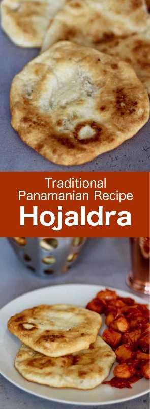 Los hojaldres, también conocidos como hojaldras o hojaldas, son deliciosos rollos planos fritos redondos panameños tradicionales que también son populares en Uruguay y Colombia. #Panama #CentralAmericanCuisine #CentralAmericanRecipe #PanamaCuisine #PanamaRecipe #WorldCuisine # 196flavors