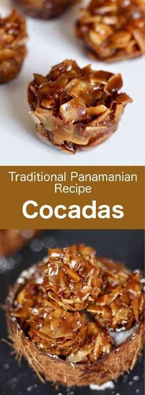 Las cocadas son pequeños dulces caramelizados hechos con coco fresco y panela, originarios de España y populares en toda América Latina. #Panama #CentralAmericanCuisine #CentralAmericanRecipe #PanamaCuisine #PanamaRecipe #WorldCuisine # 196flavors