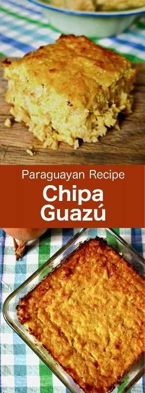 Chipa Guazú (a veces escrito