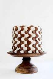 Me encanta un nuevo diseño de pastel divertido!