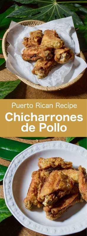 El chicharrón de pollo es una receta tradicional puertorriqueña, cubana y dominicana de pollo marinado deliciosamente, que se empana y se fríe. #PuertoRico #PuertoRicanCuisine #PuertoRicanRecipe #PuertoRicanFood #DominicanRepublic #DominicanFood #DominicanCuisine #DominicanRecipe #Cuba #CubanCuisine #CubanFood #CubanRecipe #WorldCuisine # 196flavors