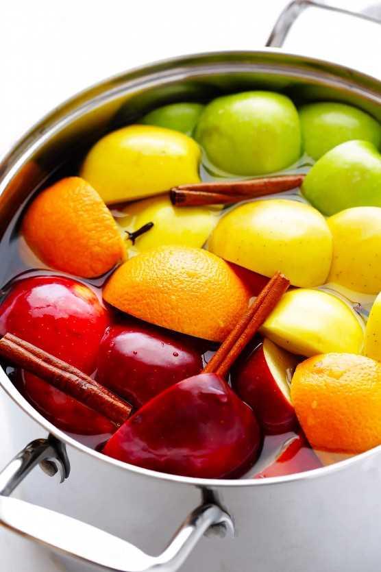 Receta casera de sidra de manzana | Estufa, olla de barro o olla instantánea