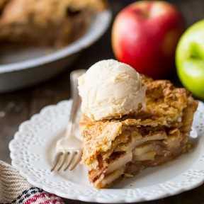 La mejor receta de tarta de manzana