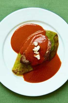 Solomillo De Ternera Nopal Tres Chile Suace