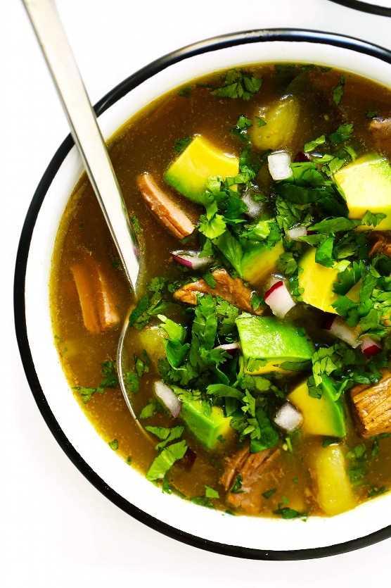 Receta De Salsa Verde De La Sopa De Filete