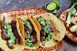 Tacos De Filete De Arrachera