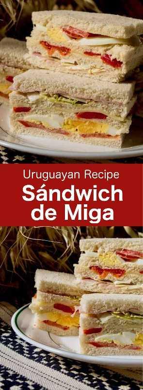 Sándwich de miga (o sándwich olímpico) es un delicioso sándwich de múltiples capas muy popular en Uruguay, Argentina y Chile. #UruguayanRecipe #UruguyanFood #UruguayanCuisine #ArgentinianRecipe #ArgentinianFood #ArgentinianCuisine #ChileanRecipe #ChileanFood #ChileanCuisine #LatinCusine #LatinFood #LatinRecipe #WorldCuisine #6final
