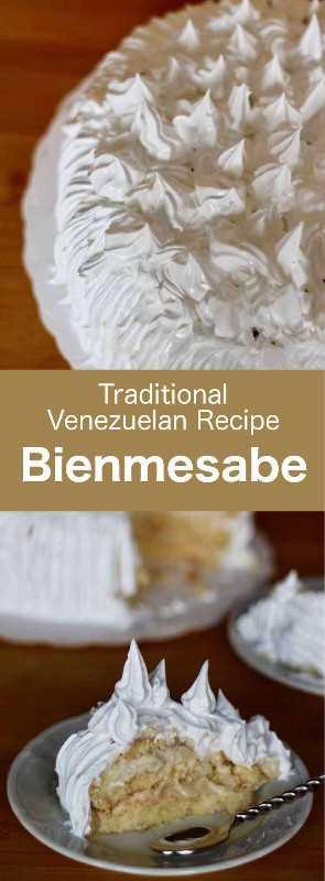 Bienmesabe es un pastel venezolano tradicional de origen español, que se prepara con una crema de huevo y jerez a base de coco. #Venezuela #VenezuelanCuisine #LatinAmerica #LatinAmericanCuisine #WorldCuisine # 196flavors