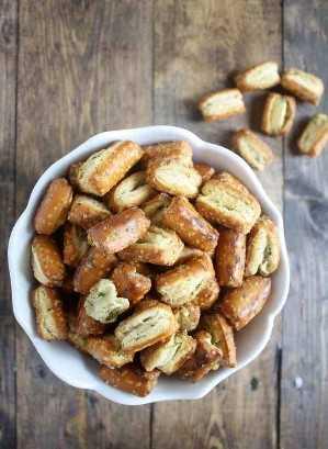 pretzels condimentados