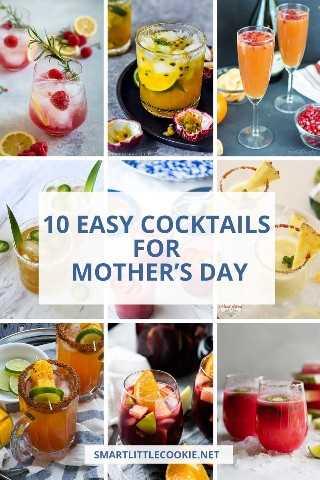 Cócteles fáciles para el día de la madre