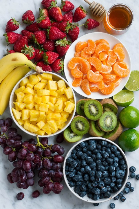 Ensalada De Frutas Arco Iris
