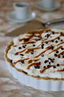 pastel de banoffee auténtico