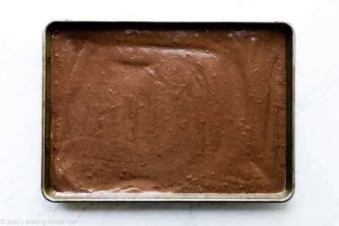 Rollo de pastel de chocolate suizo