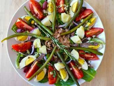 Salade Nicoise equivocada