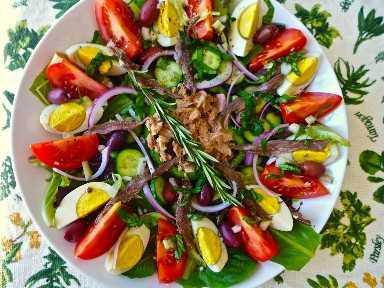 Salada francesa Nicoise