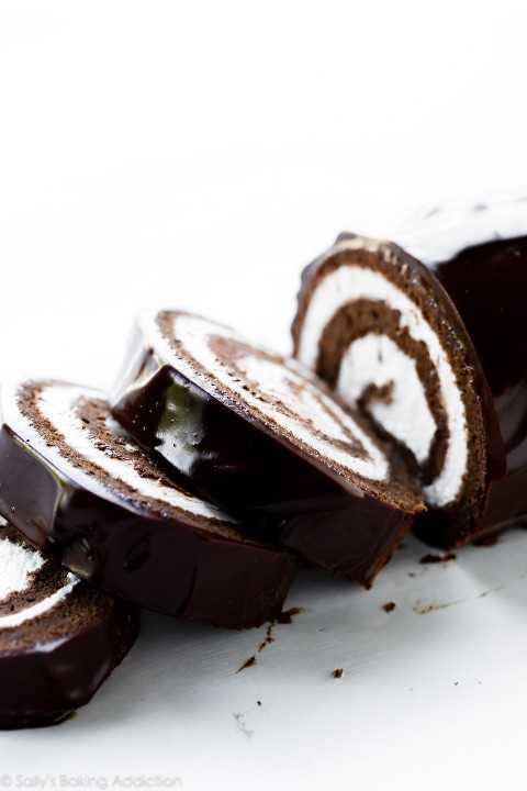 Rollo De Chocolate Suizo