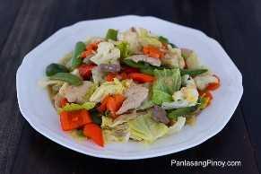 Sabrosa chop suey