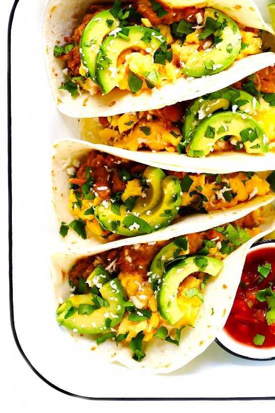 Tacos De Desayuno Fácil