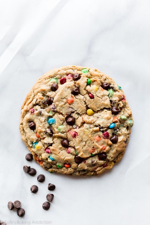 Big M&M Cookie