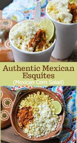 Aprende a hacer estos deliciosos y auténticos esquites mexicanos, que son uno de los alimentos callejeros más populares de México. ¡Son económicos de hacer y saben muy bien!